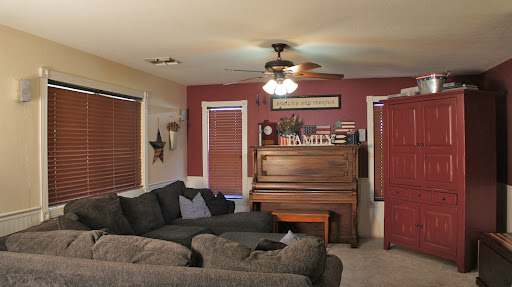 View of family room in Mesa Arizona home