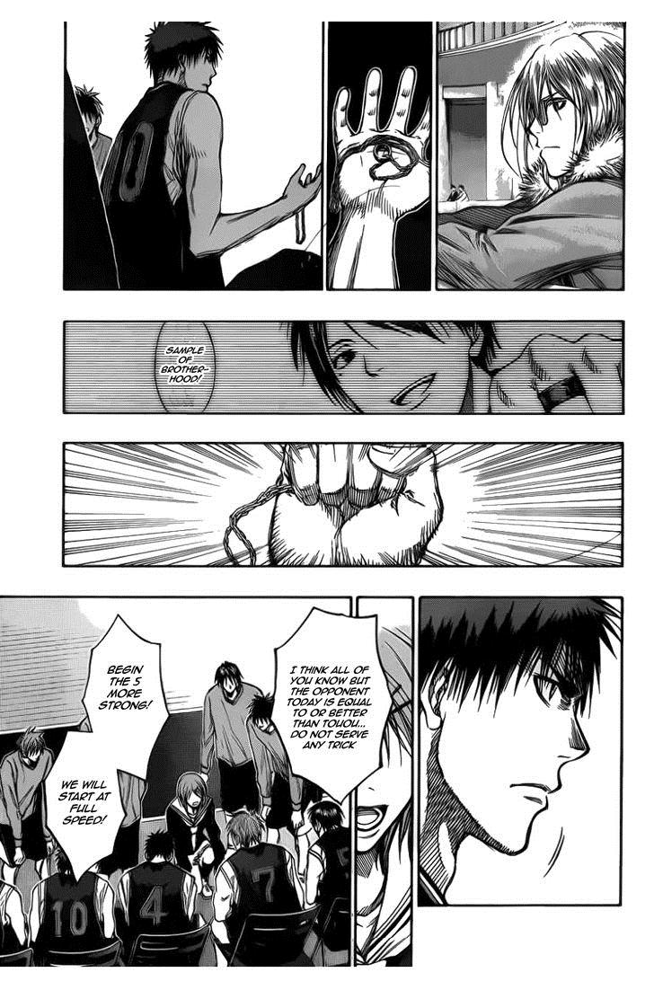 Kuroko no Basket Manga Chapter 145 - Image 07