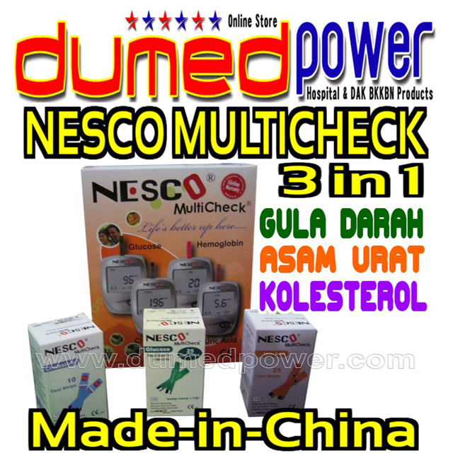 Nesco-Multicheck-3-in-1-GCU-GCHb-made-in-china