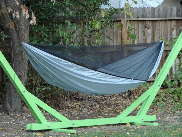 Backyard Hammock Stand : Backyard DIY Hammock Stand and DIY Hammock  Backyard projects