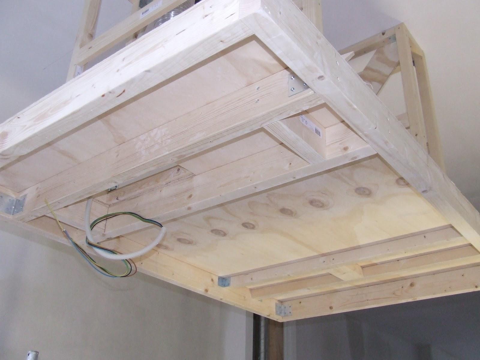 Verlaagde Plafond Keuken : Ziep25: Het maken van het verlaagde plafond in de keuken