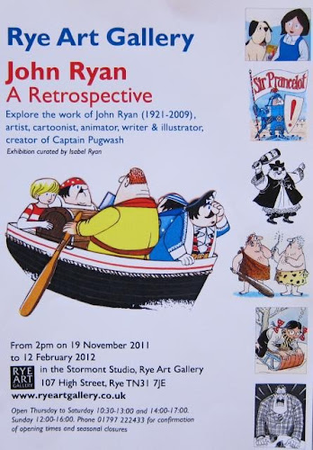 John Ryan Exhibition poster