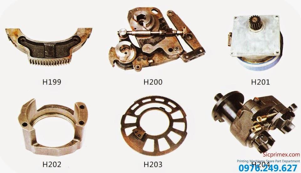 Linh kiện máy in giá tốt nhất H199-204