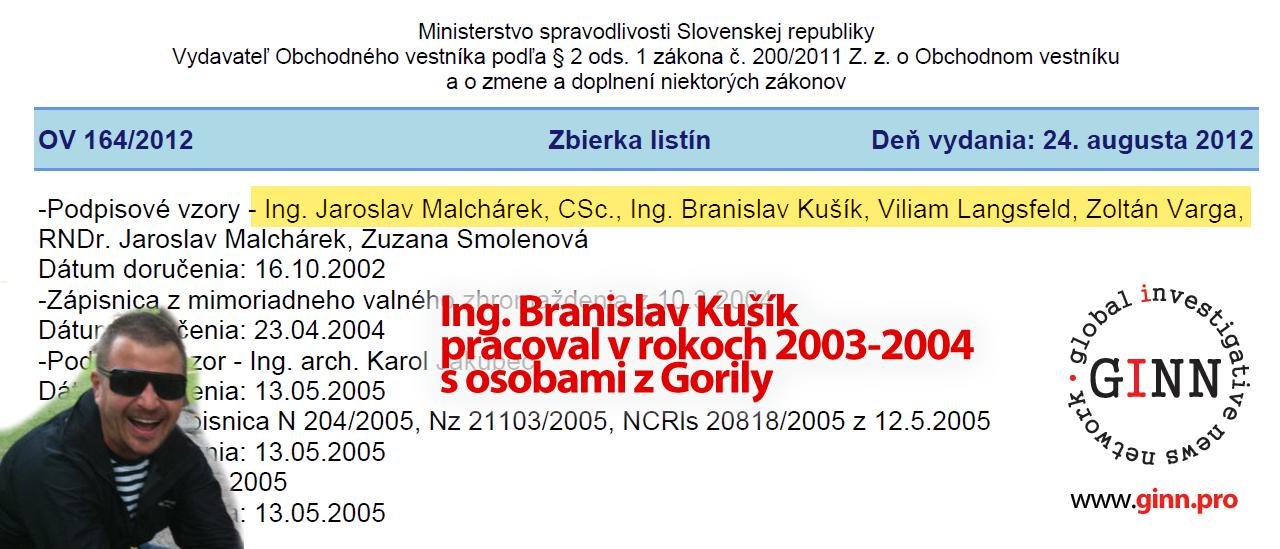 Branislav Kušík bol Gorila