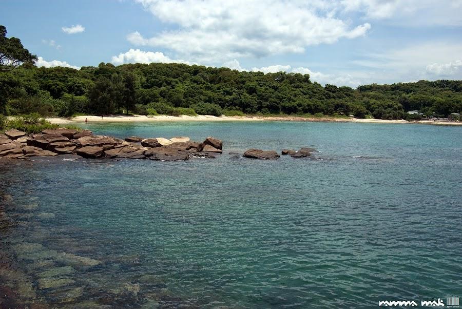 東平洲水清沙白