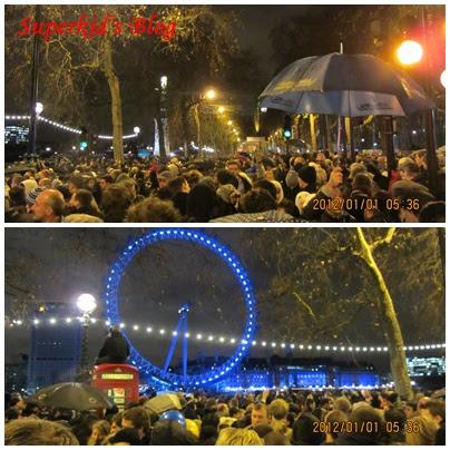 Superkid的歐洲巡禮:體驗震撼人心的英國倫敦2012跨年煙火秀!