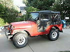 1971 Jeep CJ5 Base Sport Utility 2-Door 3.7L