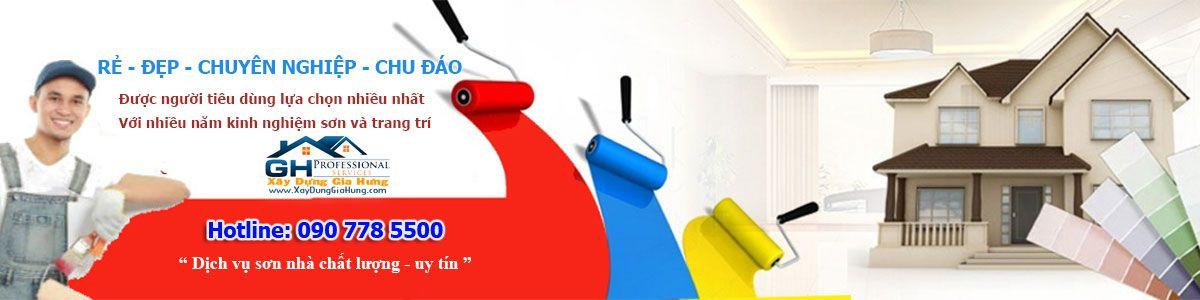 dịch vụ sơn nhà đẹp, chất lượng, uy tín tại TpHCM