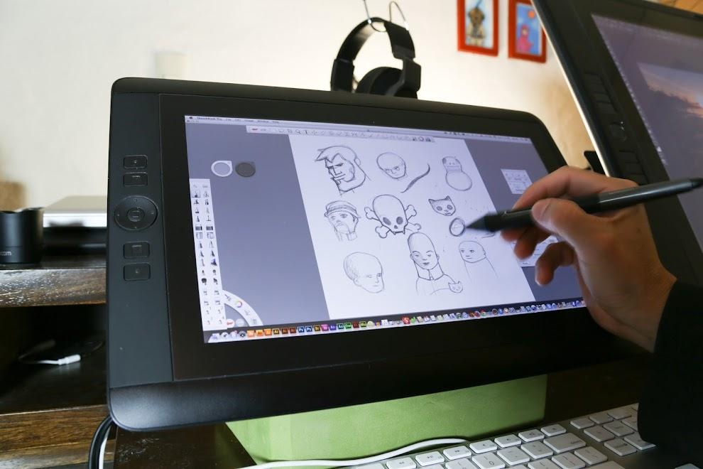 Review Wacom Cintiq 13hd Pen Display Tablet Parka Blogs