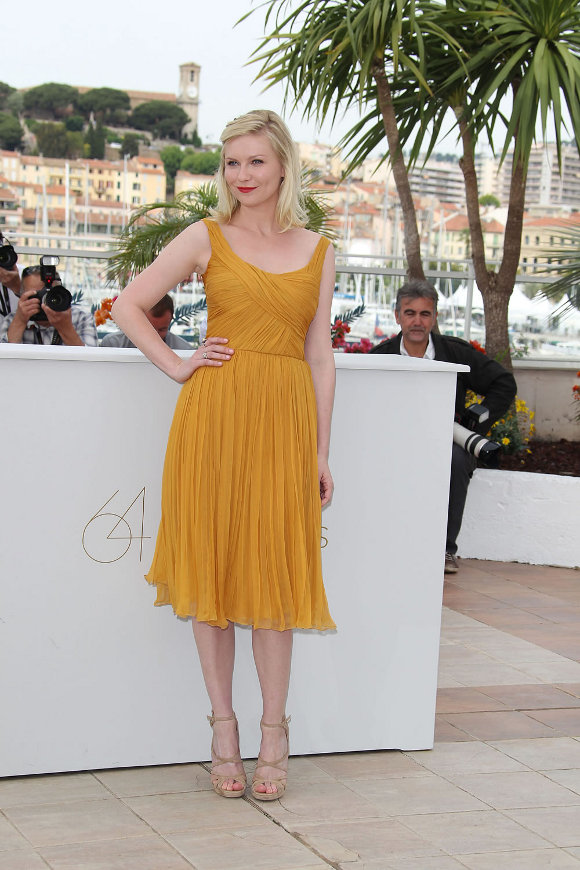 Kirsten Dunst(6photos)  #gossip:gossip,dress for girls