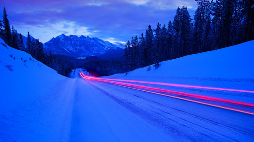 Light Trails, Jasper National Park, Alberta, Canada.jpg