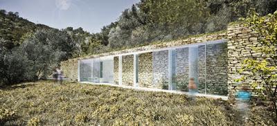 Elle se fond dans le paysage d tails d 39 architecture for Architecture qui se fond dans le paysage