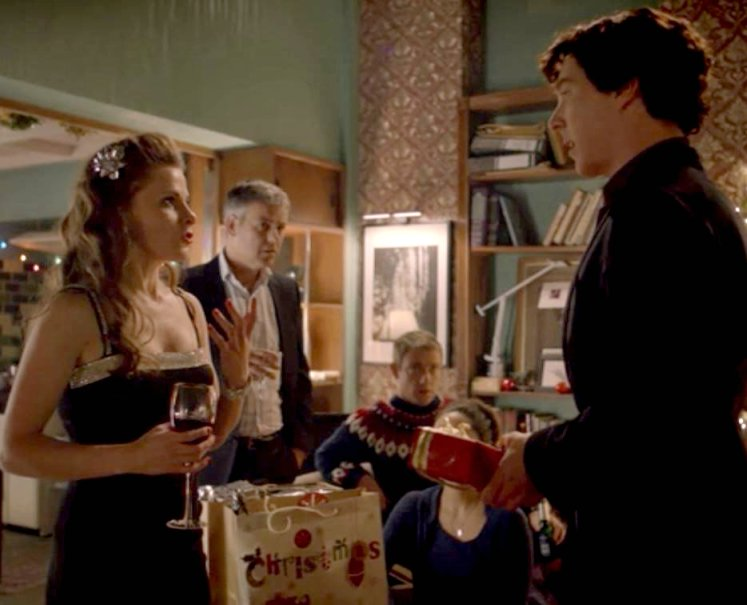 Molly's gift for Sherlock - BBC Sherlock General ... Molly Hooper Christmas Dress