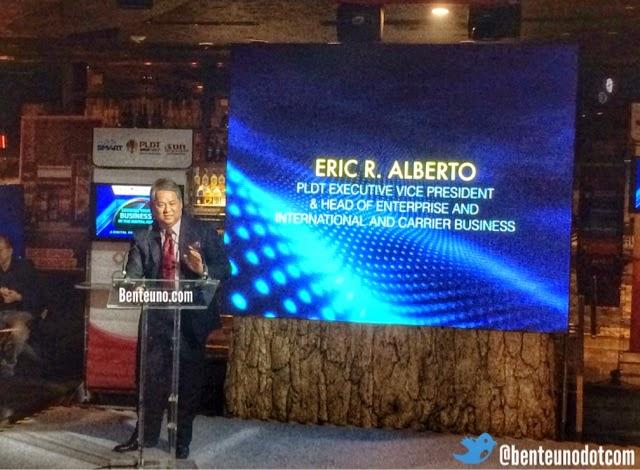 PLDT's Eric Alberto