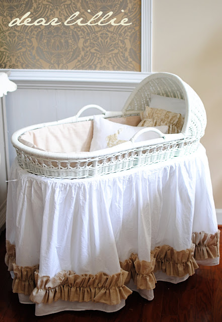 Dear Lillie A Free Bassinet Makeover A Couple More