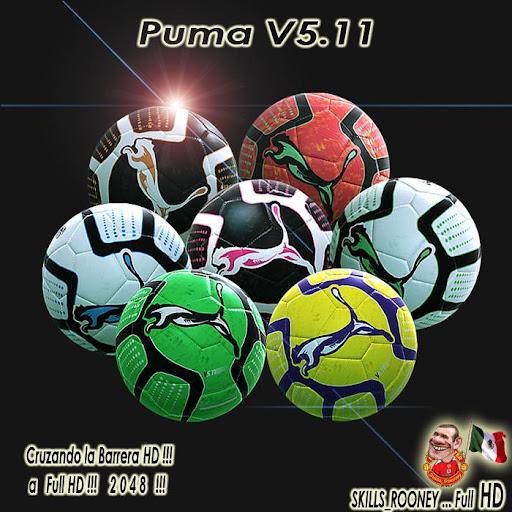 Puma v5.11 Full HD - PES 2012