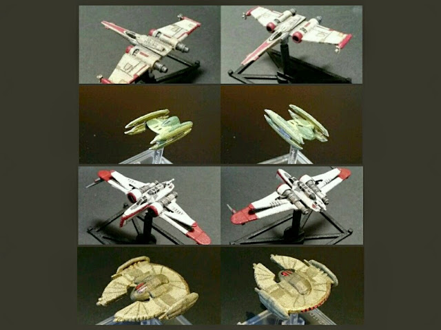 Naves Clon Wars de Mel Miniatures