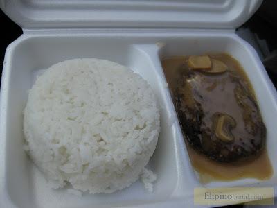 Jollibee Burger Steak Picture