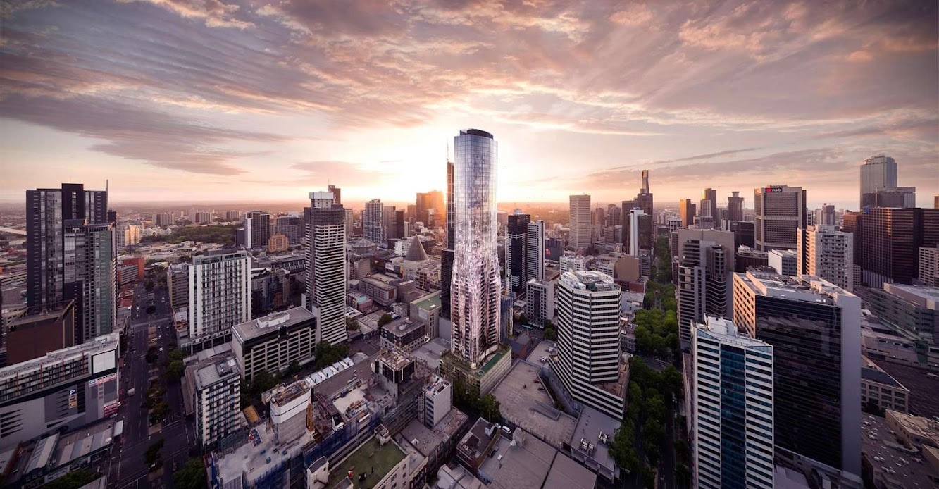 Melbourne Victoria, Australia: EQ. Tower by Elenberg Fraser