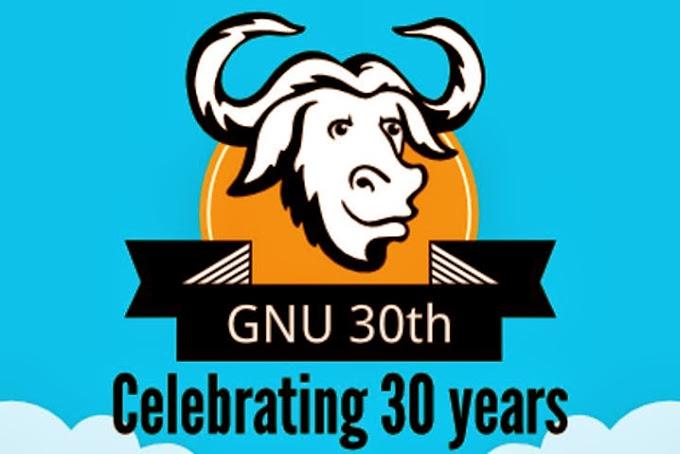 El Proyecto GNU cumple 30 años. ¡Felicidades!