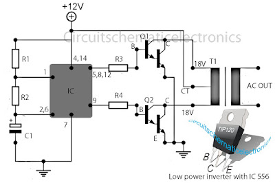 secret diagram inverter 12v to 115v with 25 w power output rh diagramqu blogspot com