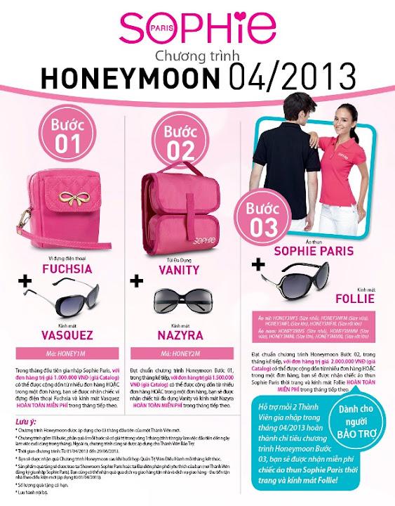 Chương trình Honeymoon 05/2013