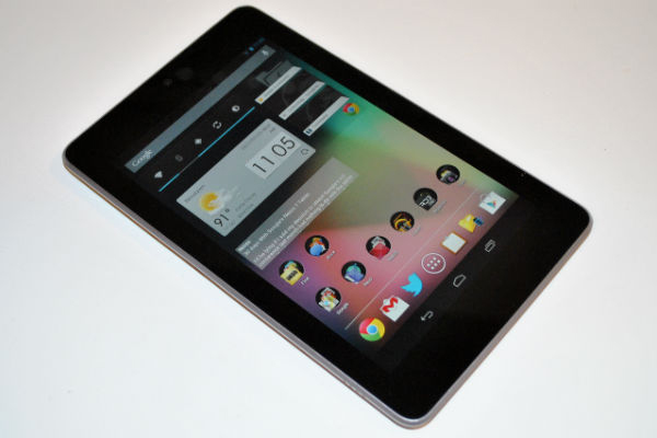 Steps to Screenshot the Google Nexus 7