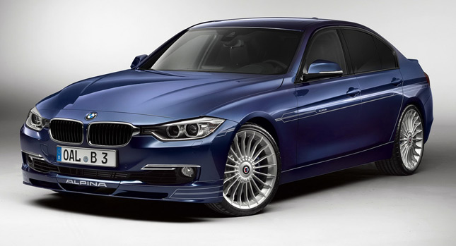 Bmw F30 3 Series Based Alpina B3 Turbocharges Into The