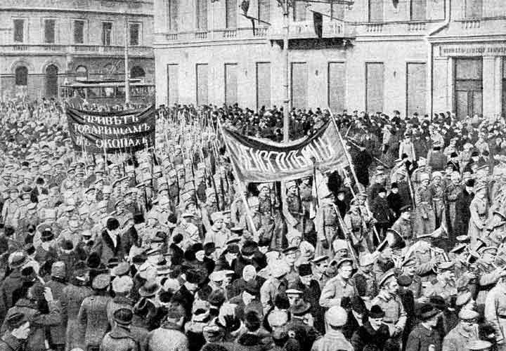 февральская революция в России