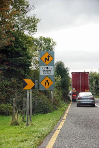 Crazy road signs in Ireland