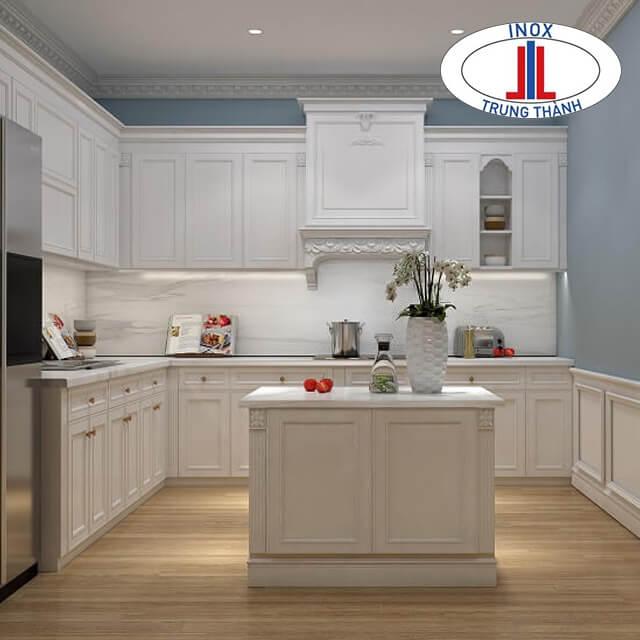 nhà bếp đẹp đơn giản
