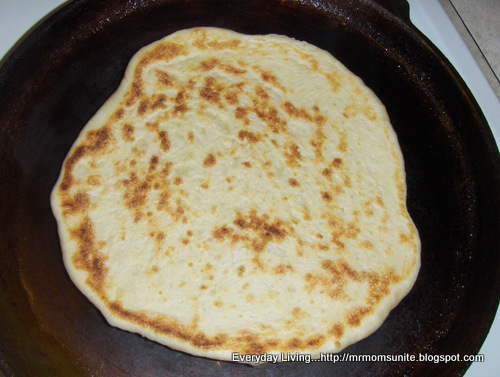 photo of Naan bread