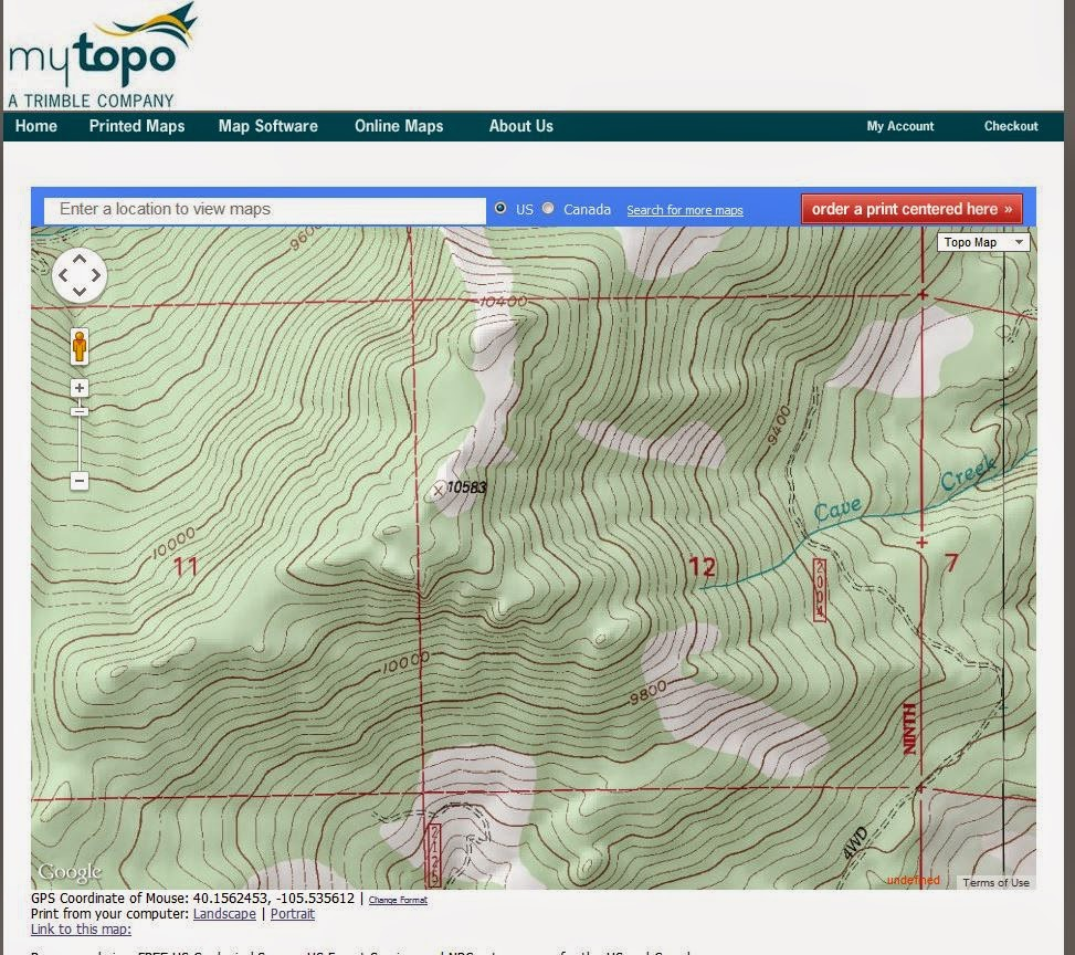 How Do I Get To The Terrain View With New Google Maps Google - Us topo maps for google earth