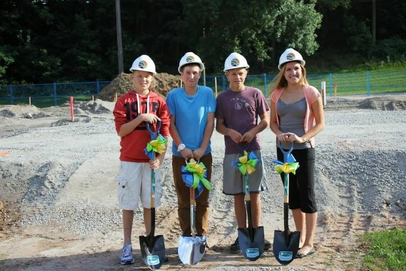 Reil Skate Park Ground Breaking - Aviva Community Fund Winners