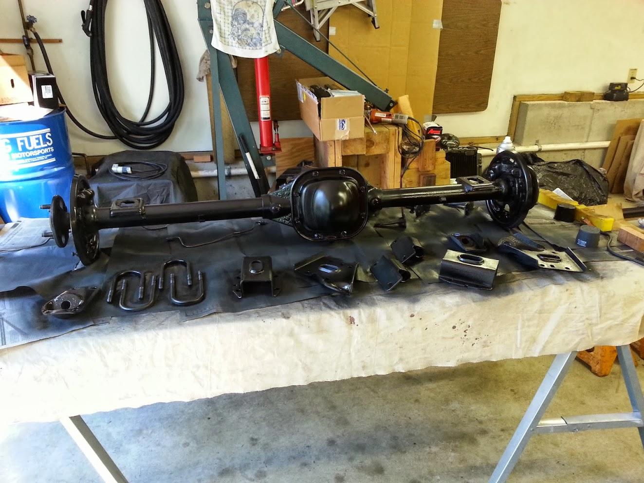 Bobcat Rear Axle : Mercury bobcat builds and project cars forum
