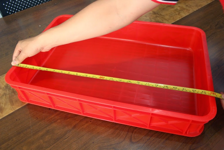 JUAL KERANJANG KONTAINER PLASTIK POLOS TIPE 2290 P | Green Leaf | www.rajarakminimarket.com | RAJA RAK INDONESIA | JAKARTA