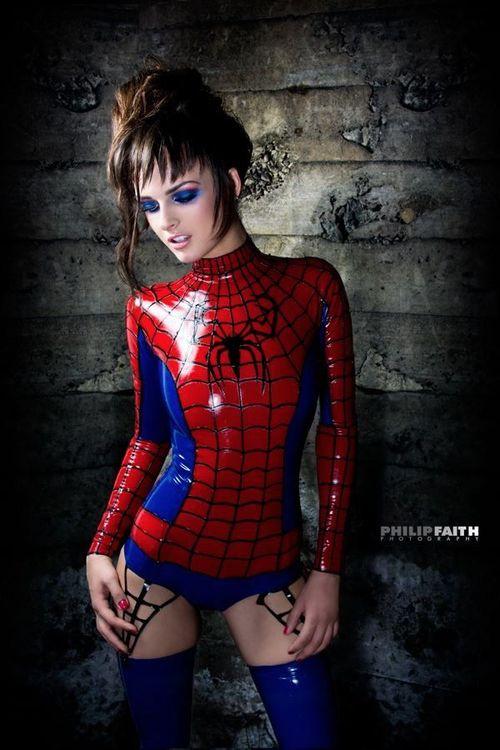 Tuyển tập một số cosplay Spider Girl cực quyến rũ - Ảnh 9
