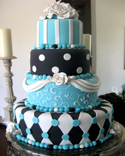 Wedding Cakes by Dawna: 2011 Wedding Colors