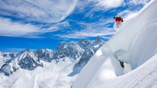 Skiing Near Chamonix-Mont-Blanc, France.jpg
