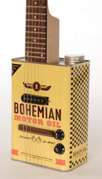 *油鐵桶再生電吉他:Bohemian Guitars 回收手作之美! 2