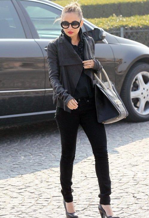 Celebrity Street Style Fashion 2011 Beauty Zone