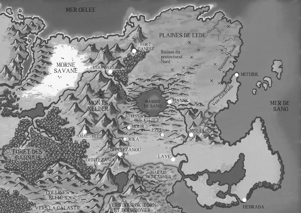 Le continent de Ghelspad