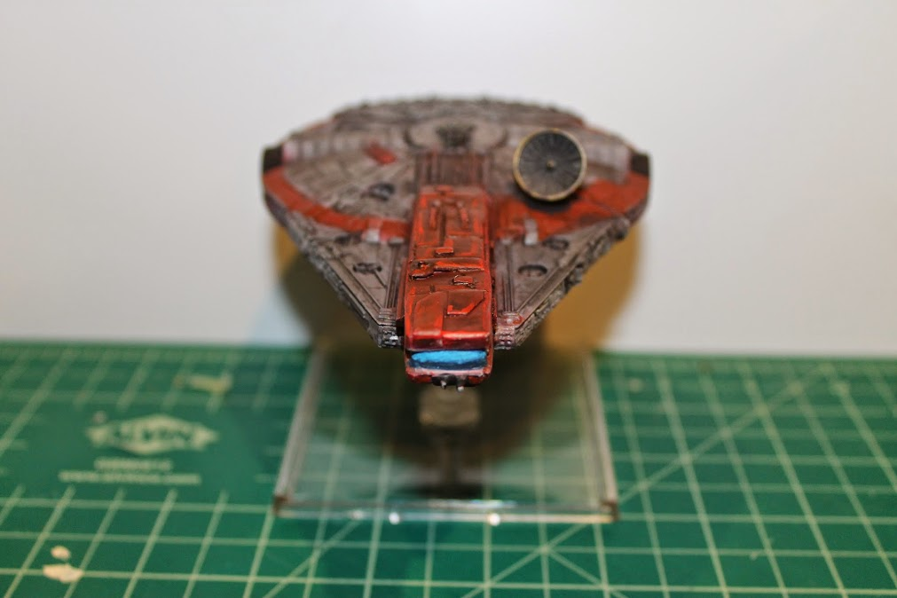 Finished YT-1300, Front