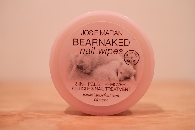 Josie Maran Argan Hand Healers Review Bear Naked Nail Wipes