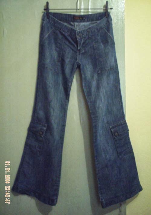 como transformar calça jeans em bermuda tie-dye