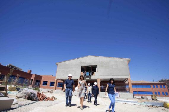 Ampliación del Colegio Cortes de Cádiz de Sanchinarro