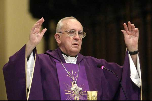 Jorge Mario Bergoglio, Papa