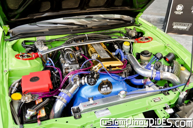 Mean Green Nissan S14 Silvia Custom Pinoy Rides Car Photography Philippines Philip Aragones THE aSTIG pic8