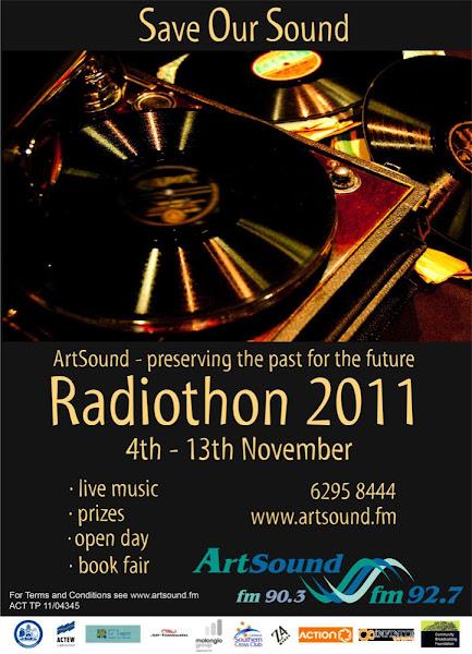 radiothon poster