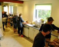 Masser af aktivitet i køkkenet ved OK-NM 2013